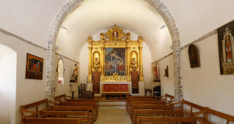 Intérieur chapelle des pénitents